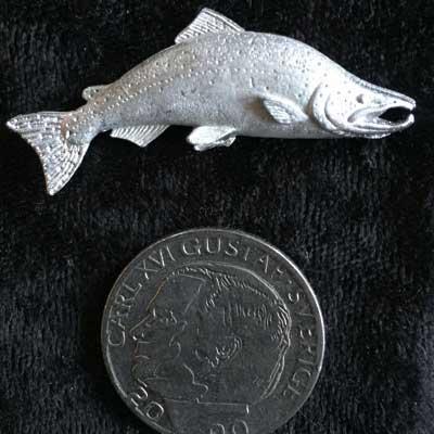 pin pins laxhane tennsmycke arcticart arcticarts örjansfiske
