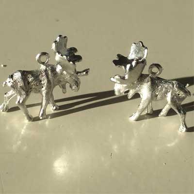 älghuvud tennpins smycke atcticart arkticart örjansfiske