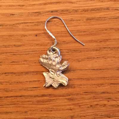 örhänge smycke liten älg örjansfiske arcticart