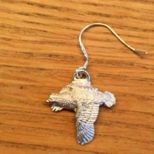 örhänge smycke flygande ripa örjansfiske arcticart