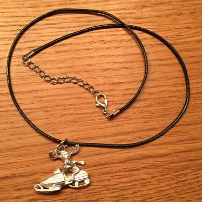 halsband älgskoter halsband älghorn arcticart örjansfiske tennfigur Lappland