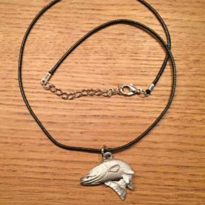 halsband hoppande gädda arcticart örjansfiske tennfigur