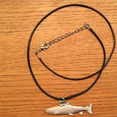 halsband Lax arcticart örjansfiske tennfigur