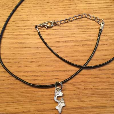 Renhuvud smycke arcticart örjansfiske renhalsband